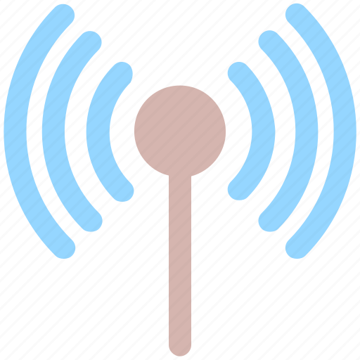 connection, ifi, internet, network, signal, signals, wireless icon