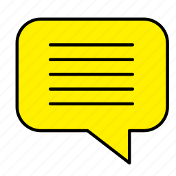 chat, conversation, estate, house, real, rent, sale icon