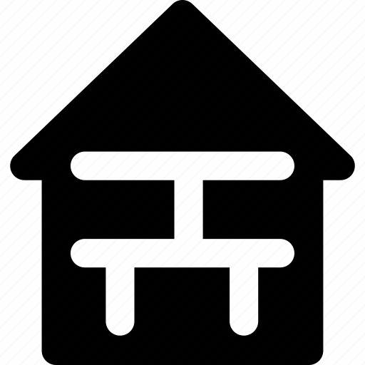 apartment, architecture, house, hut, office, plan icon