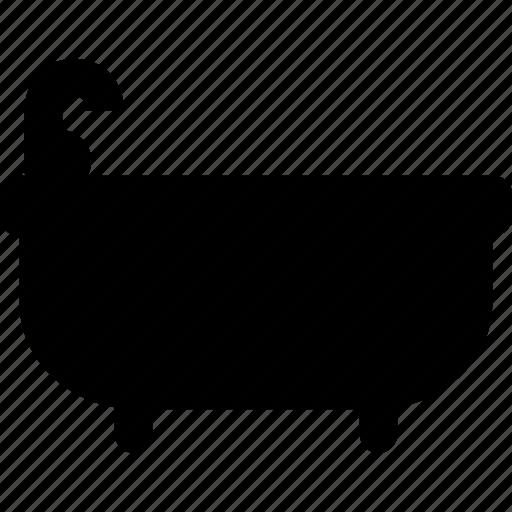bathtube, house, interior, wash, water icon