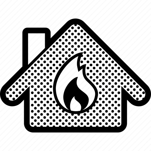 Burn, fire, home, house, insurance, property icon - Download on Iconfinder