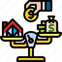 asset, exchange, financial, investment, management, money icon