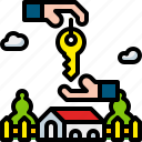 access, home, key, owner, safe, security, unlock icon