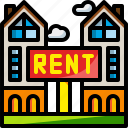 business, estate, home, house, property, rent, sale icon