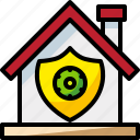 loan, property, realestate, residential, security icon