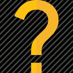 ask, faq, mark, problem, question icon