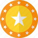 approval, featured, recommended, shield, star, stars, suggested