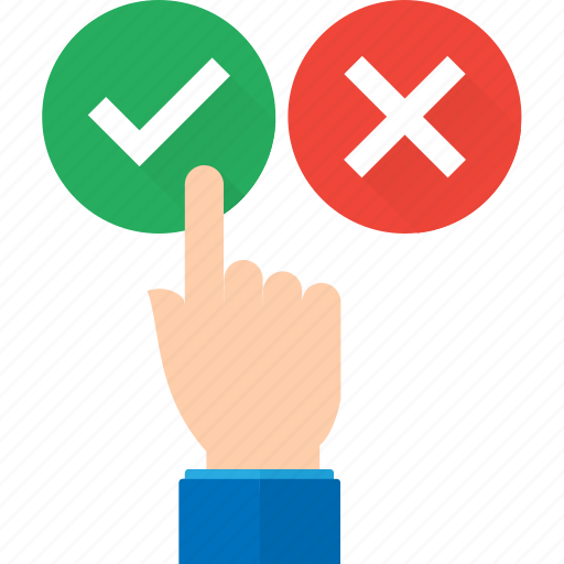 approval hand pointing recommendation recommended suggestion icon