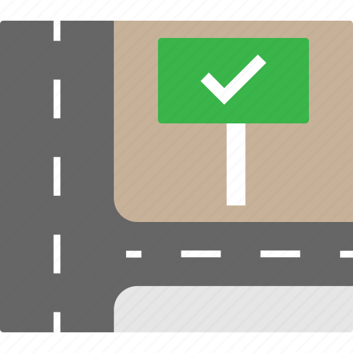 billboard, direction, guidance, guideline, road icon