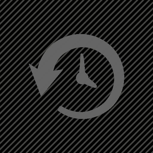 history, rebuild, repair, restore, schedule, time icon