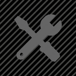 fix, repare, restore, service, tools, wrench icon
