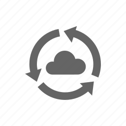 cloud, reload, restore, storage, sync, update icon
