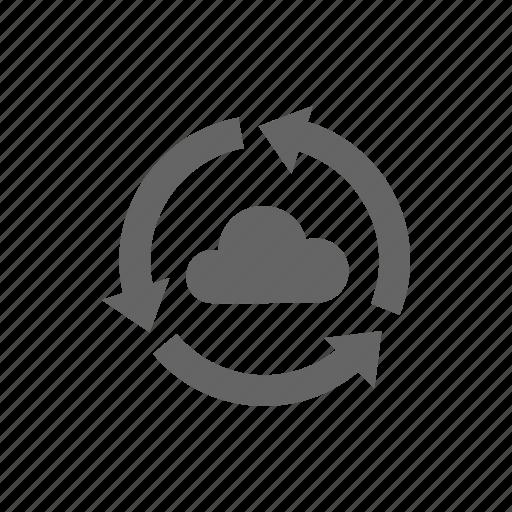 Reload, update, cloud, restore, storage, sync icon