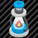 camping lantern, kerosene lamp, lantern, oil lamp, retro lantern icon
