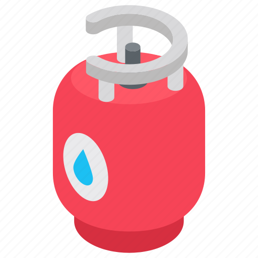 cooking cylinder, gas bottle, gas cylinder, gas tank, lpg bottle icon