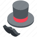 imaginations, magic, magic show, magic tricks, magician hat icon
