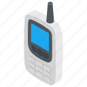 communication, portable radio, radio transmitter, walkie talkie, wireless icon
