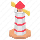 lantern, lighthouse, map lighthouse, nautical, navigation icon