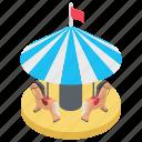 beach, beach side, beach tent, summer camp, sun tanning icon