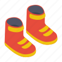 camping boots, foot protection, footwear, high boots, hiking boots icon