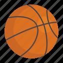 ball, basketball, sports ball, sports equipment icon