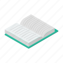 book, booklet, diary, documents, knowledge, notebook, notes icon