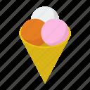 dessert, frozen dessert, gelato, ice cream, sundae, sweet food icon