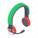 headset, customer services, audio device, earphones, headphone, earphone icon