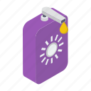 cosmetic, sunblock, sunblock cream, sunscreen, sunscreen lotion icon