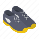 gym shoes, running shoes, sneakers, sport footwear, sports shoes icon
