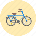bicycle, bike, cycling, hobby, pedal, push bicycle, sport icon