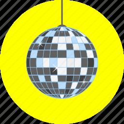 celebration, dance, dancing, fun, joyful, party, shiny globe icon