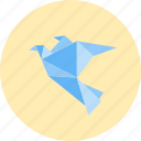 art, artistic, artistic production, creative, hobby, kite, origami icon