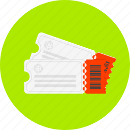 cinema, coupon, discount, label, price, ticket, tickets icon