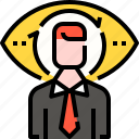 employee, headhunting, human resources, jobs, man, user icon