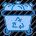 trash, bin, garbage, ecology, recycle