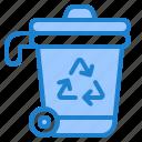 trash, recycle, ecology, bin, garbage