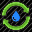 ecology, recycle, trash, bin, water
