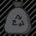 recycle, ecology, trash, bin, bag