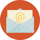 email, envelope, internet, marketing, message, received, sent icon