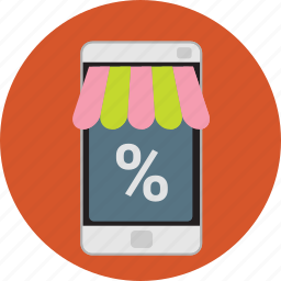 app, ecommerce, internet, marketing, mobile, online, shopping icon