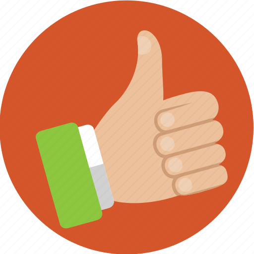 approve, hand, internet, like, marketing, thumbs up icon