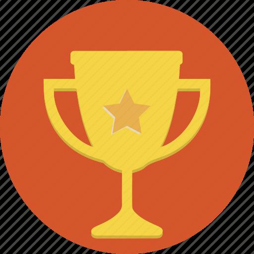 internet, marketing, success, trophy, win, winner icon