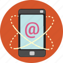 cellphone, email, information, internet, iphone, marketing, smartphone icon