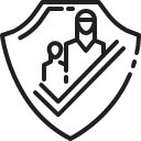 child, human, people, safe, save, woman, zone icon