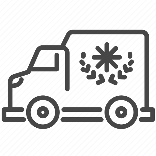 charities, delivery, displaced, refugee, transport, truck icon