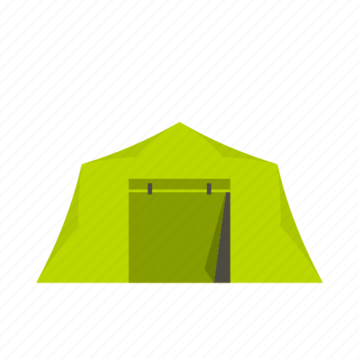 adventure, camping, leisure, logo, outdoor, shelter, tent icon