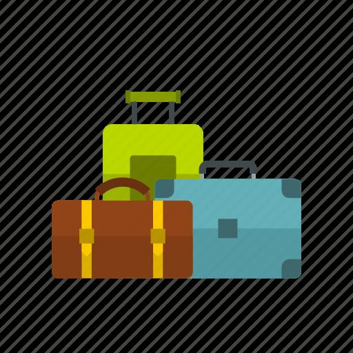 bag, baggage, carry, case, tour, tourism, travel icon