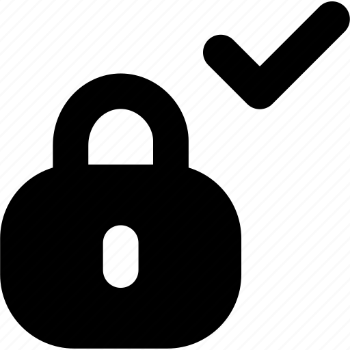 lock, safe, safe check icon