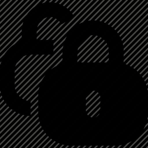 encryption, password, protection icon